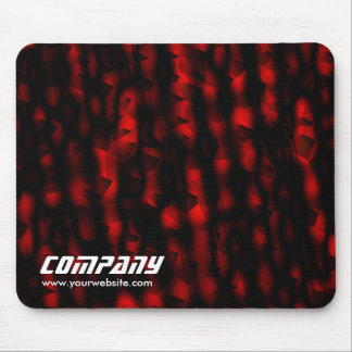 Red and Black Texture, Business Mouse Pad