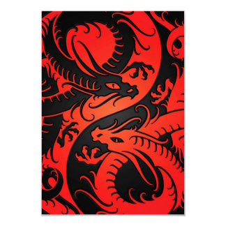 Red and Black Yin Yang Chinese Dragons Announcements