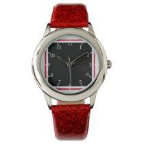 Red and Blackbird Wrist Watch