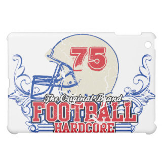 Red and Blue Add Number Football Helmet  iPad Mini Cases