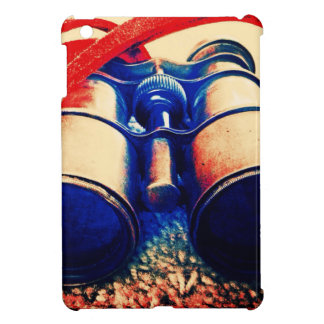 Red And Blue Binoculars Cover For The iPad Mini