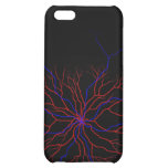 Red and Blue blood vessel phone case iPhone 5C Case
