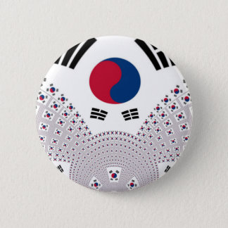 Red and Blue Flag elements Button