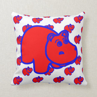 Blue And Red Pillows - Decorative & Throw Pillows Zazzle