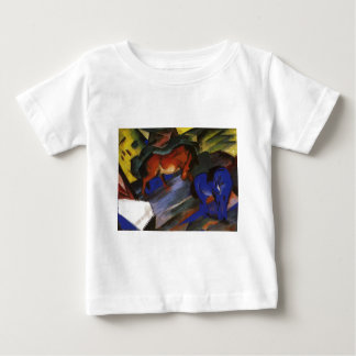 Red and Blue Horse by Franz Marc Baby T-Shirt