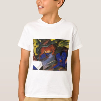 Red and Blue Horse by Franz Marc T-Shirt