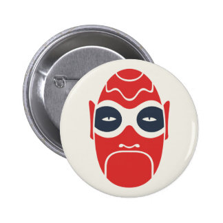 Red and Blue Mask Button