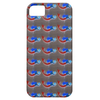 red and blue mermaid case