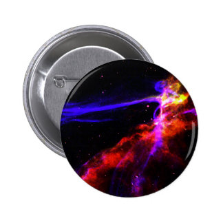 Red and Blue Nebula Button