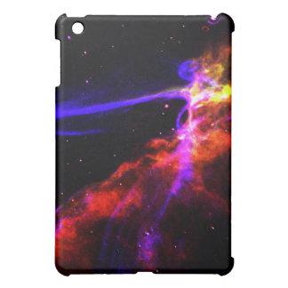 Red and Blue Nebula iPad Mini Cover