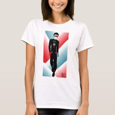 jasmineflynn Red and Blue Outfit T-Shirt