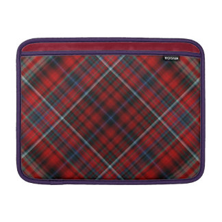 Red and Blue Plaid Macbook Air Sleeve