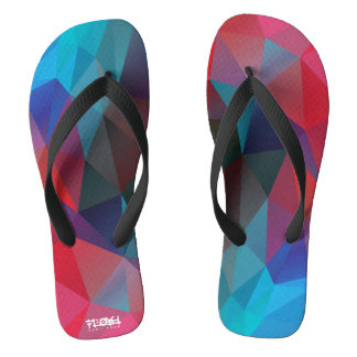 Red and Blue Polygons Flip Flops