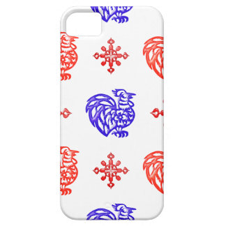 Red and Blue Roosters iPhone SE/5/5s Case