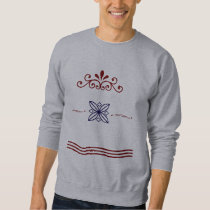 Red and Blue Royal Sweatshirt