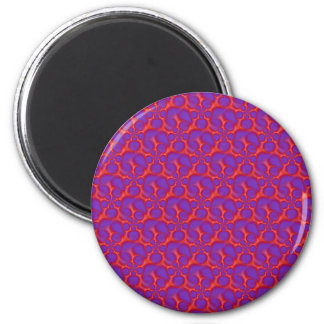 Red and Blue Spiral Holes  Magnet