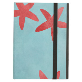 Red and Blue Starfish iPad Air Cover