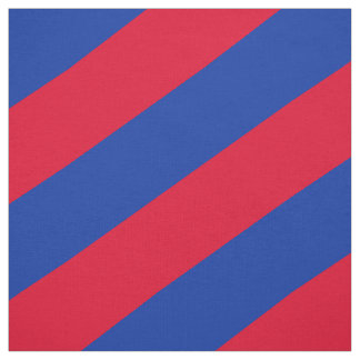 Red and blue striped pattern fabric