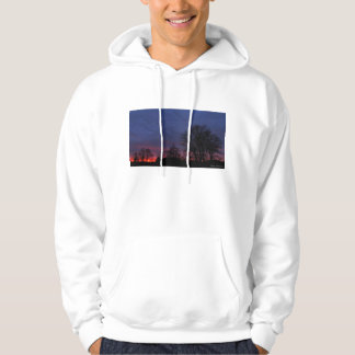 Red and Blue Sunset Hoodie