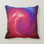 Red and Blue Swirl iPhone 5 Case Throw Pillow