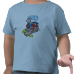 Red and Blue Train Tshirts and Gifts