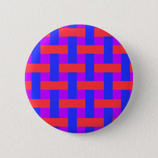 Red and Blue Woven Button