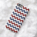 Red and Blue Zig Zag Pattern Barely There iPhone 6 Case