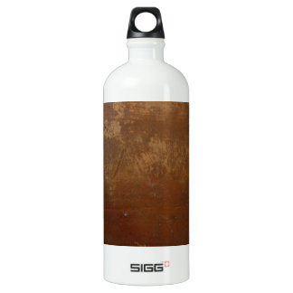 Red and Brown clay pot Aluminum Water Bottle