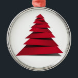 "RED AND CUTE CRAFTY CHRISTMAS TREE METAL ORNAMENT<br><div class=""desc"">YOU CAN CHANGE THIS AND ALL ORNAMENTS TO **THE SHAPE YOU WISH*** AND HAVE A VERY HAPPY HOLIDAY SEASON 