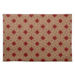 Red and Gold Celtic Knots Placemat