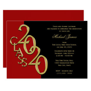 Red Invitations Zazzle