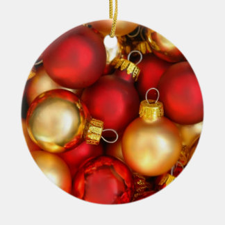 Red and Gold Decorations Ornament