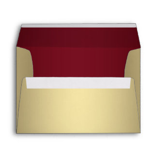 Red and Gold Envelope