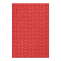 Red and Gold Floral Pattern Texture Design Canvas Print