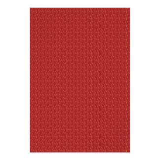Red and Gold Floral Pattern Texture Design Poster