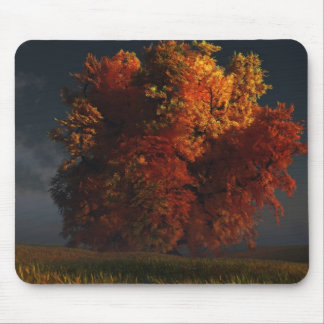 Red and Gold Mousepad