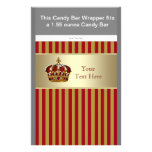 baby boy candy bar wrappers, red baby boy candy