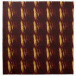 Red and Gold Smears Cloth Napkins