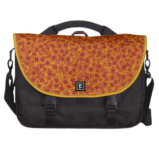 Red and Gold Star Team Spirit Sports Colors Commuter Bag