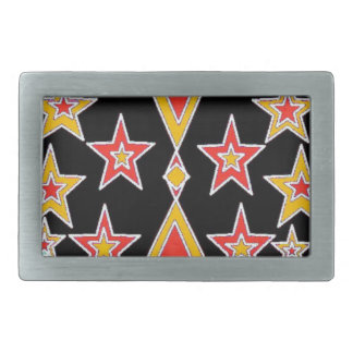 red and gold stars.jpg belt buckle