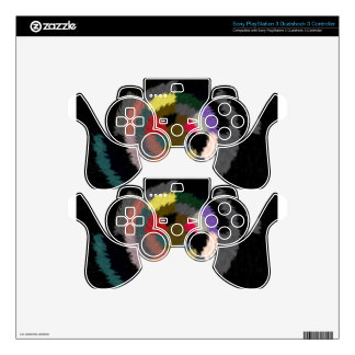red and gold stars target 2.jpg skins for PS3 controllers