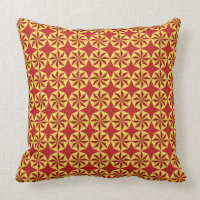 Red and Golden Pillow