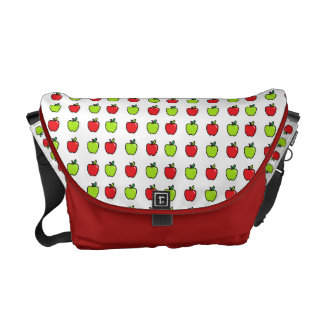 Red and Green Apples Commuter Bag