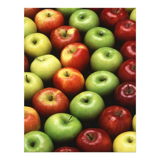 Red and Green Apples Flyer