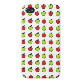 Red and Green Apples iPhone 4/4S Covers