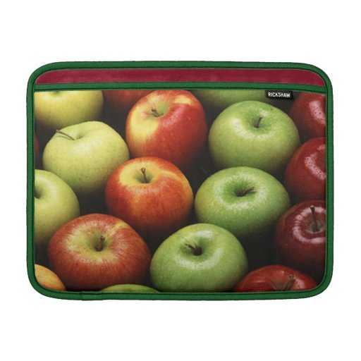 Red and Green Apples MacBook Sleeve