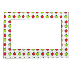 Red and Green Apples Magnetic Photo Frame