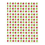 Red and Green Apples Postcards