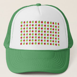 Red and Green Apples Trucker Hat