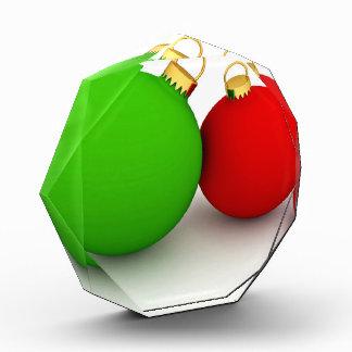 Red And Green Balls Award